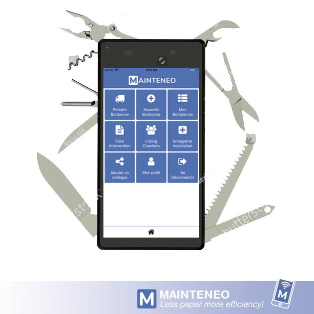 Gestion de maintenance assistée par ordinateur (GMAO) pour frigoristes sur votre smartphone ?
